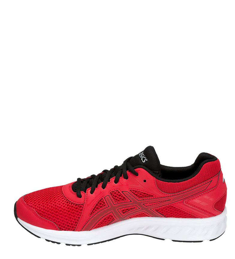 Asics-Zapatillas-de-running-Jolt-2-negro-gris-295g-Hombre-chico-Azul-Rojo miniatura 19