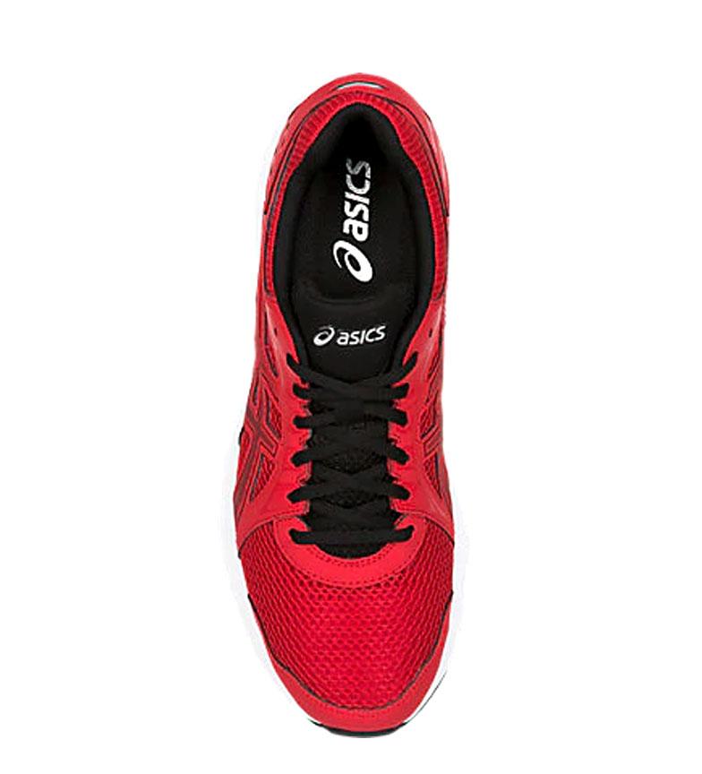 Asics-Zapatillas-de-running-Jolt-2-negro-gris-295g-Hombre-chico-Azul-Rojo miniatura 21