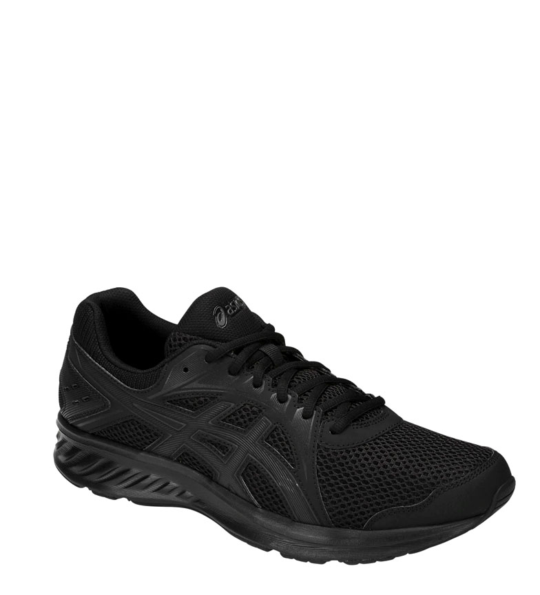 Asics-Zapatillas-de-running-Jolt-2-negro-gris-295g-Hombre-chico-Azul-Rojo miniatura 3