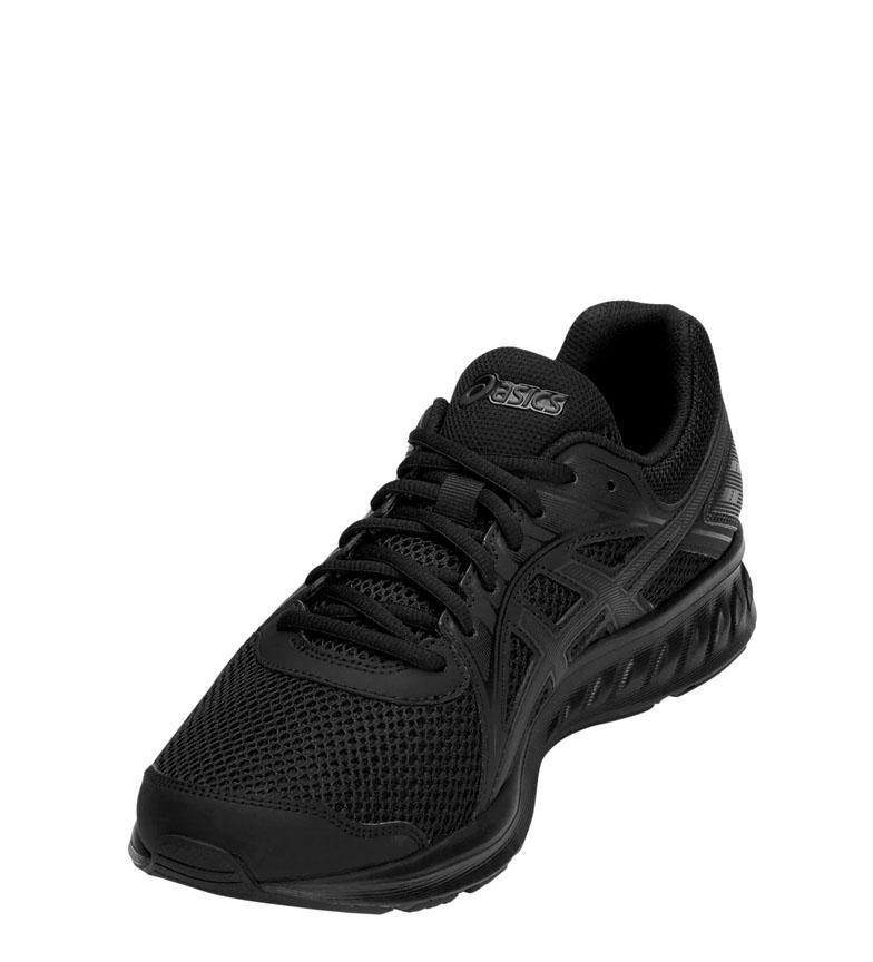 Asics-Zapatillas-de-running-Jolt-2-negro-gris-295g-Hombre-chico-Azul-Rojo miniatura 4