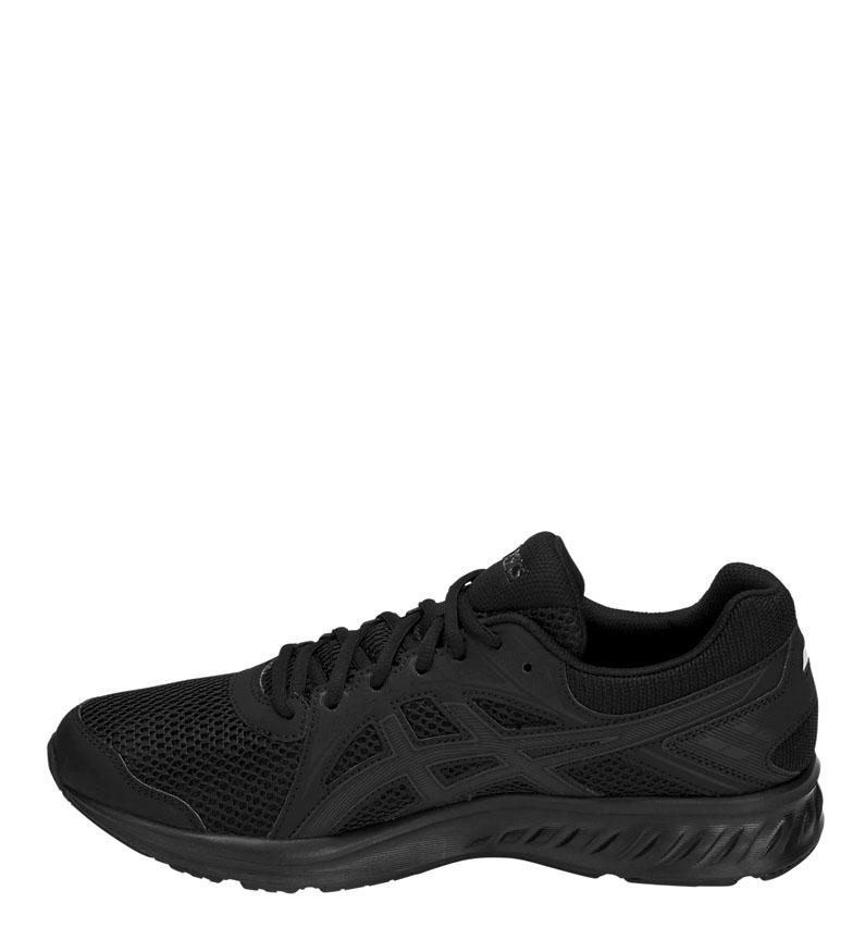 Asics-Zapatillas-de-running-Jolt-2-negro-gris-295g-Hombre-chico-Azul-Rojo miniatura 5