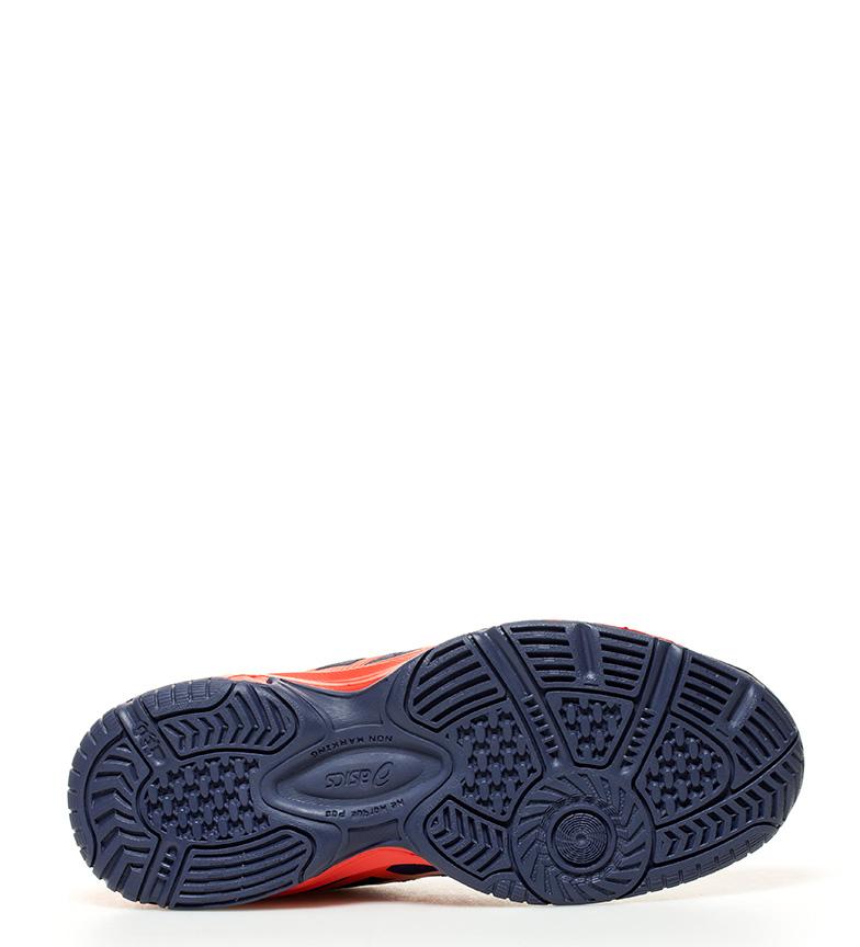 marino deportivas Pro Asics Padel GS 3 Gel naranja Zapatillas aqq0Zw7