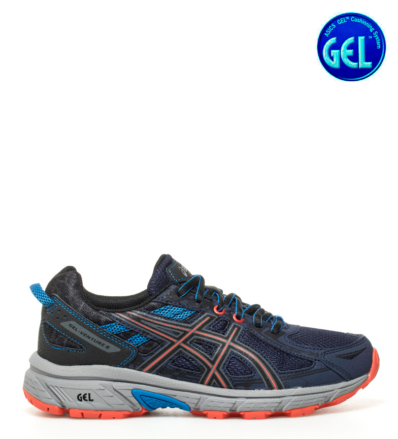 GS Asics Zapatillas Asics naranja trail 6 Gel Adventure Zapatillas azul SH6Saq