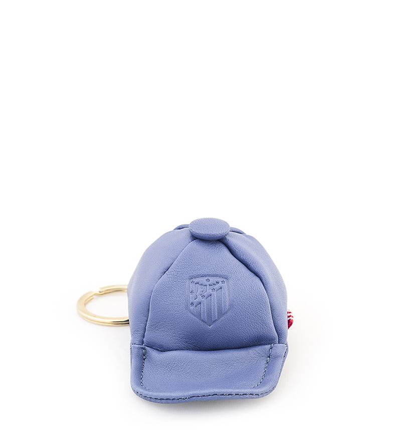 Comprar Atlético de Madrid Porta-chaves em couro Porta-chaves ATM azul -9,5x6,5 cm