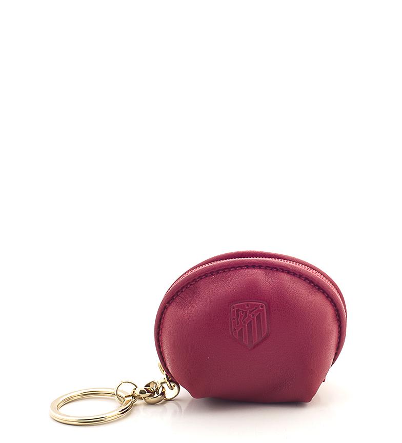 Comprar Atlético de Madrid Llavero monedero de piel ATM rojo -6x8 cm-