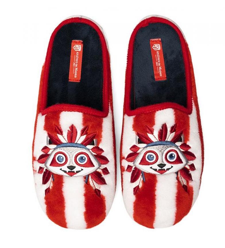 Comprar Atlético de Madrid CFA10AT pantofole rosse, bianche
