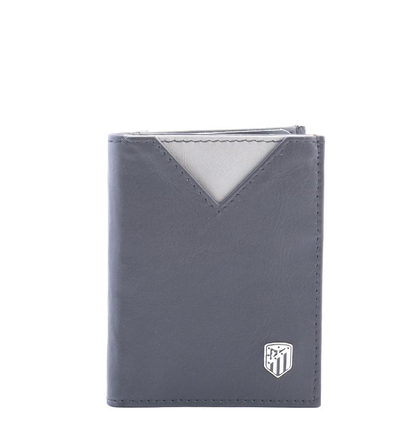 Comprar Atlético de Madrid Tarjetero de piel ATM negro -9x7,5 cm-