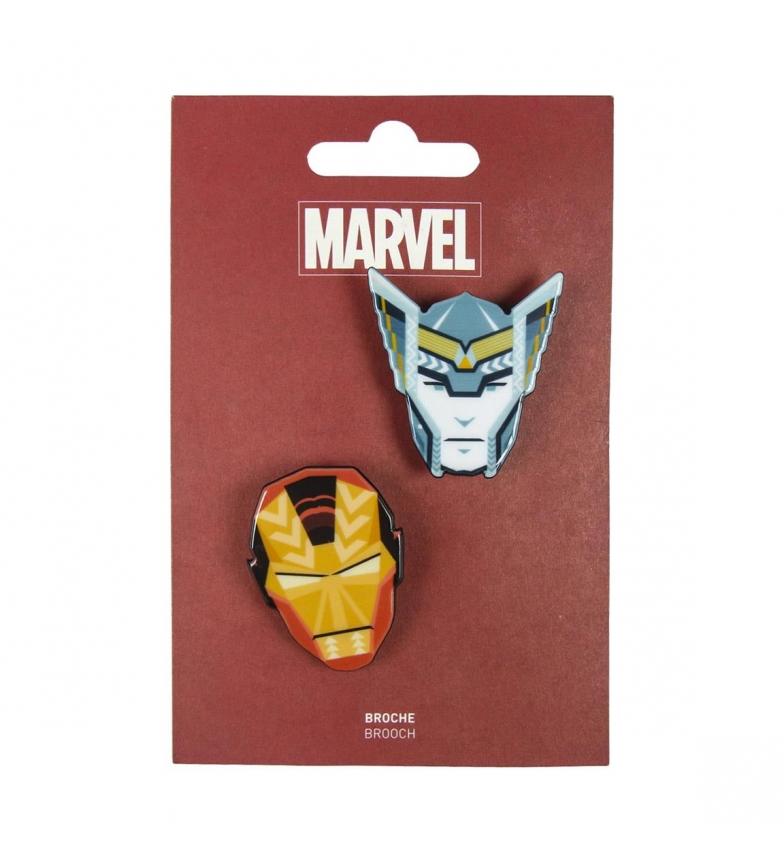 Comprar Marvel Vingadores broche cinzento, amarelo