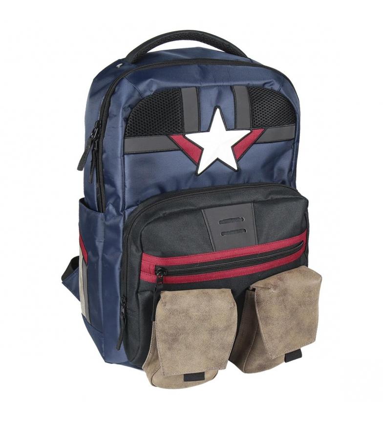 Comprar Marvel Avengers Captain America Travel Casual Zaino blu -30x48x13.5cm