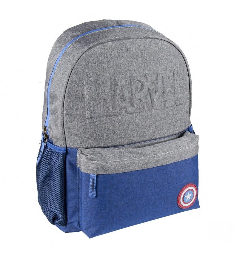 Comprar Cerdá Group Vendicatori Captain America High School Zaino grigio -30x42x13cm-
