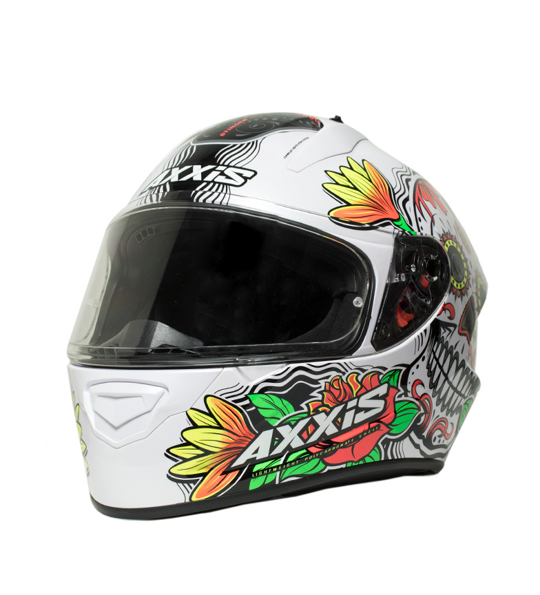 Comprar Axxis Full-face helmet Stinger Daydead A2 white