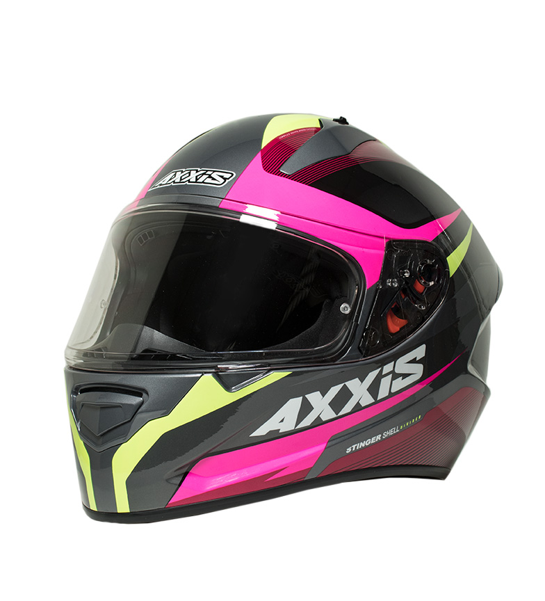 Comprar Axxis Casco integral Stinger Divided amarillo