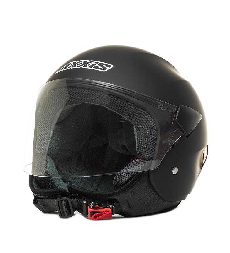 Comprar Axxis Casco jet Sport City negro mate