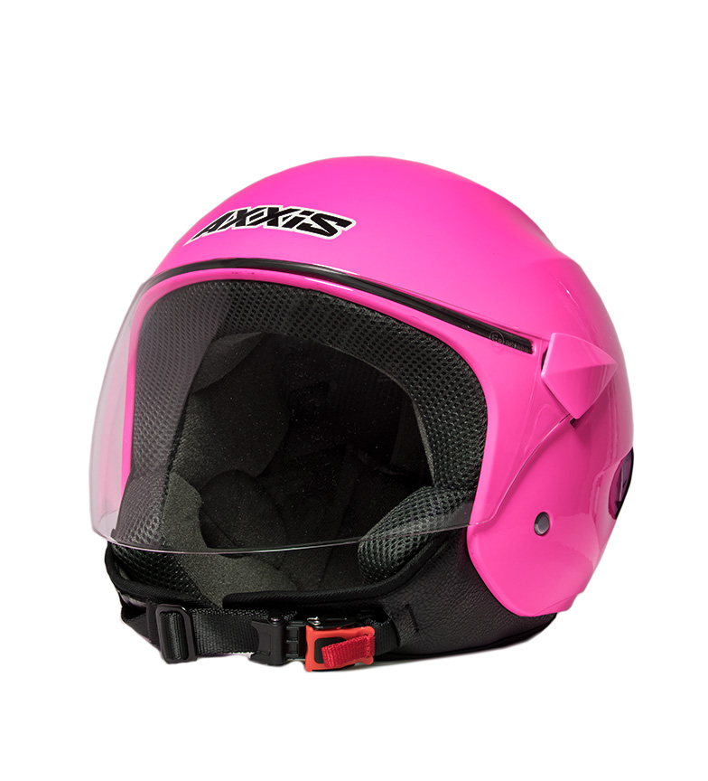 Comprar Axxis Casco jet Sport City rosa fluor