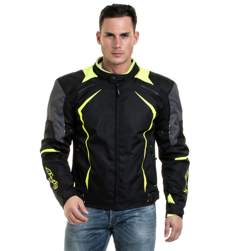 Comprar Axxis Giacca AX3 JR Winter Racing nera, gialla