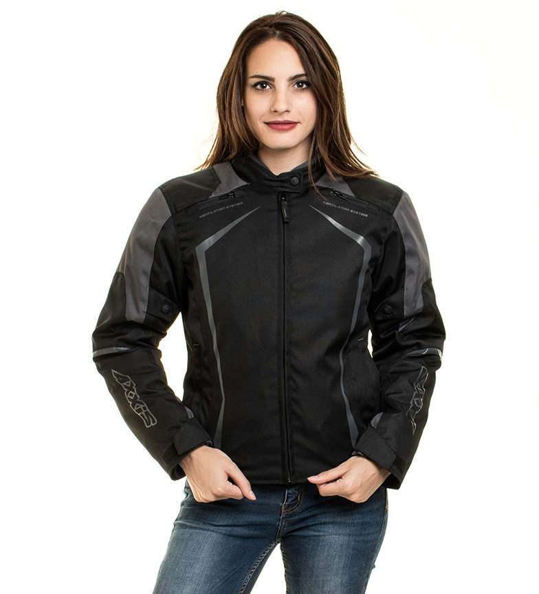 Comprar Axxis Giacca AX Jr9 Racing Donna nera, grigia