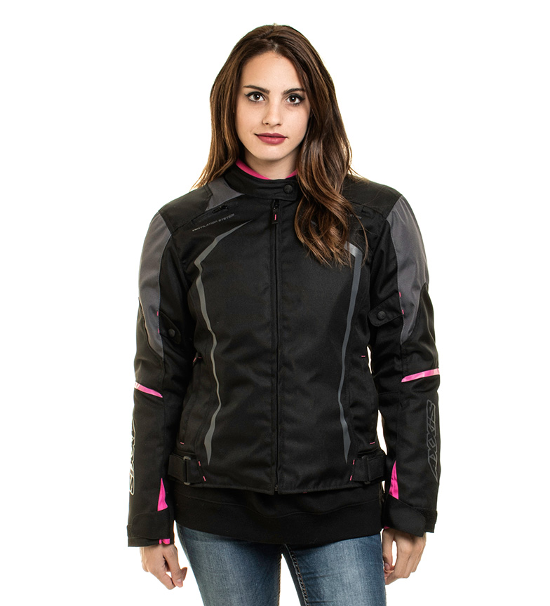 Comprar Axxis Giacca AX Jr9 Racing Donna nera, rosa