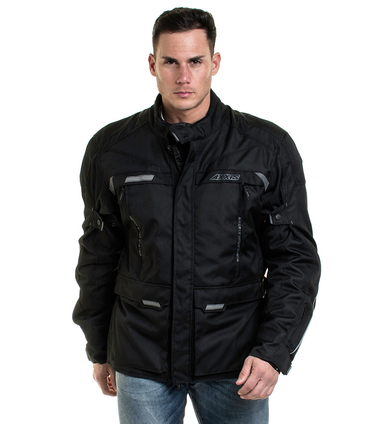 Comprar Axxis Chaqueta AX-JT1 Winter Touring negro, gris -1,2kg-
