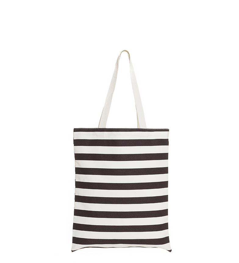 Comprar Azura Bolso Rayas blanco, negro -40x33cm-