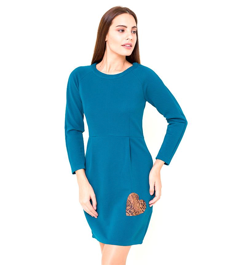 Comprar Azura Vestido corazón Adel azul