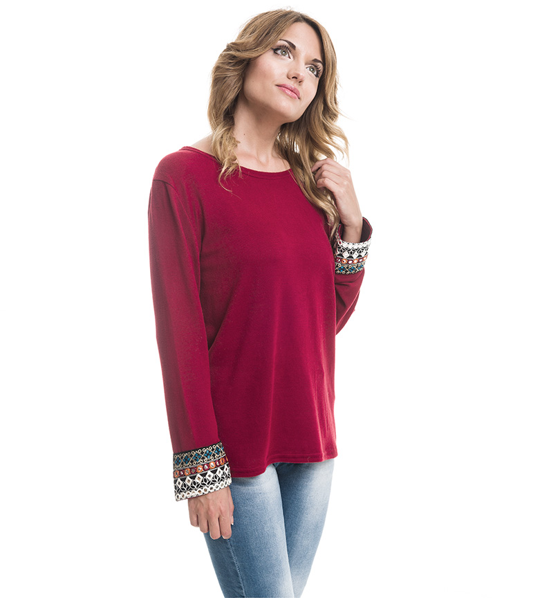 Comprar Azura Deví garnet sweater