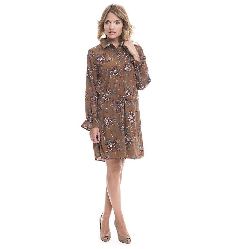 Comprar Azura Vestido marrom Lemi