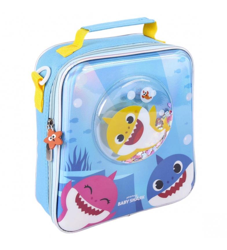 Cerdá Group Toilet bag Confetti Baby Shark blue -22x23x8cm