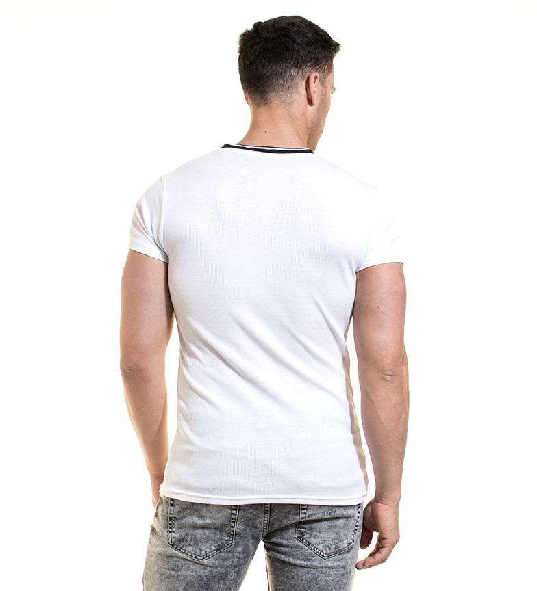 Backlight Camiseta Camiseta Backlight Figaro Figaro Figaro Blanco Camiseta Blanco Backlight Backlight Blanco rdCxeBo