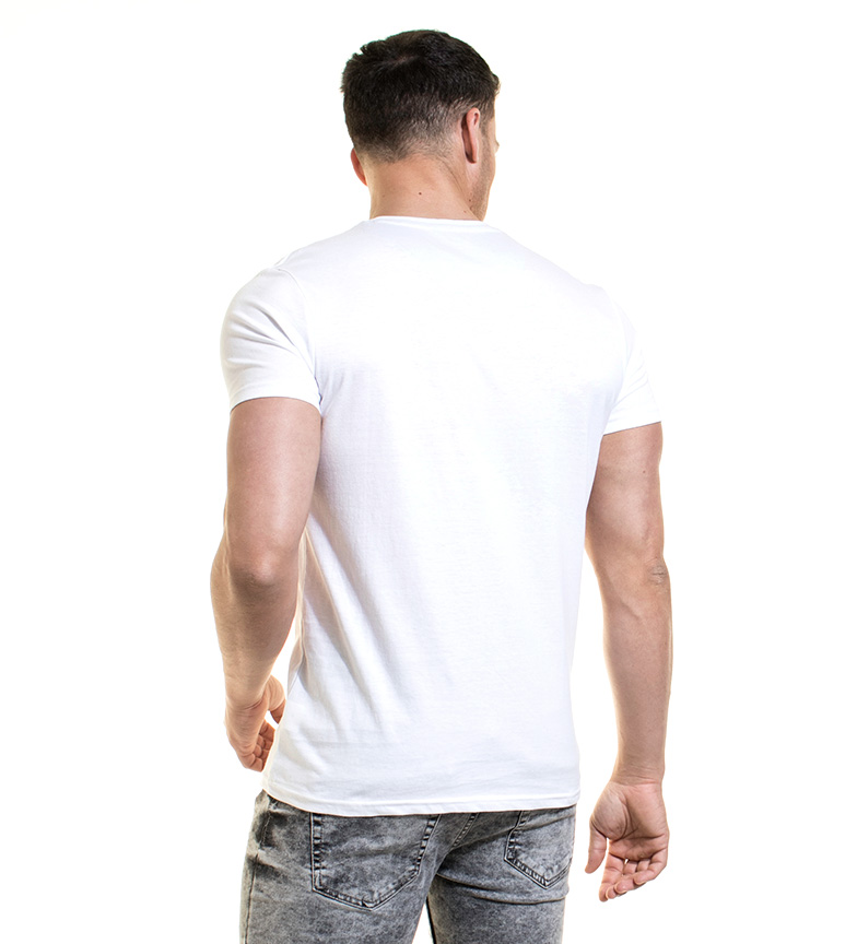 Jaap Blanco Backlight Backlight Camiseta Camiseta Backlight Jaap Backlight Camiseta Camiseta Blanco Jaap Blanco wnkOX0P8