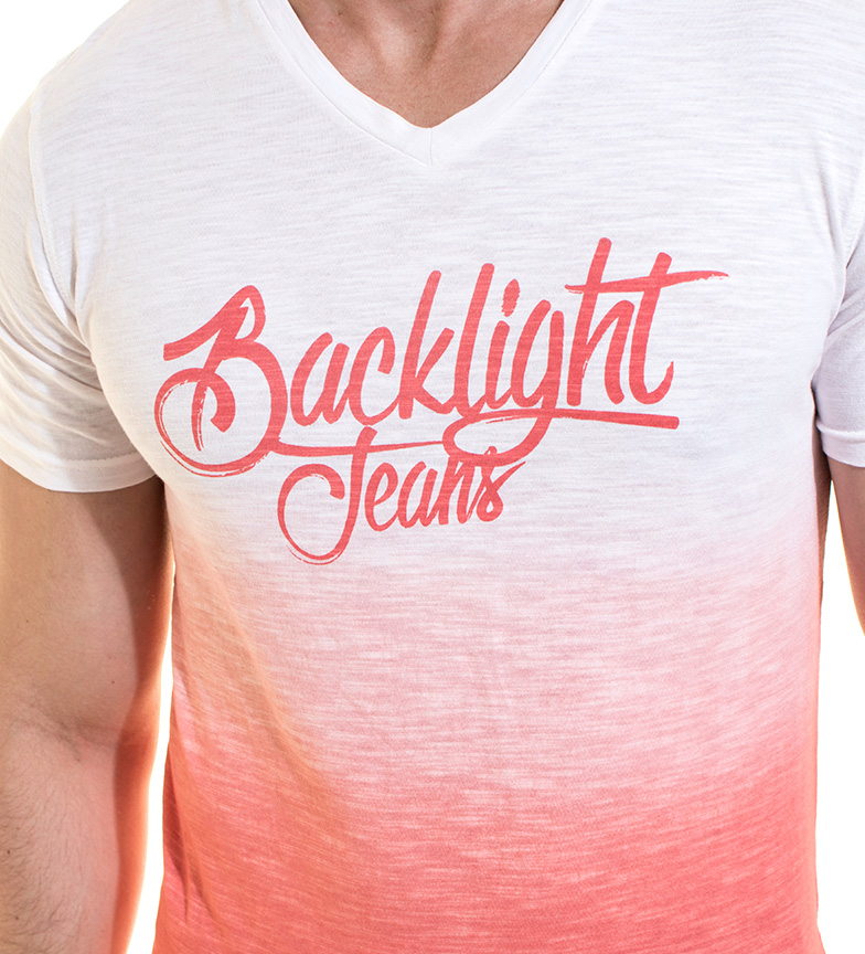 Backlight Camiseta Kieran frambuesa