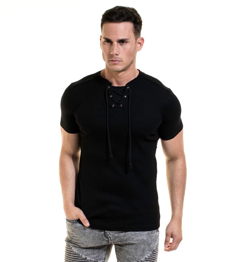 Backlight Camiseta Ludwing negro
