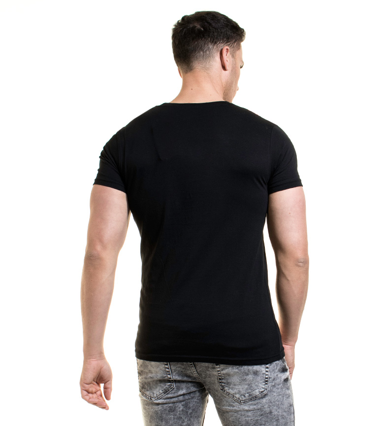 Backlight Backlight Backlight negro negro Camiseta Ridge Camiseta Ridge FPxpap