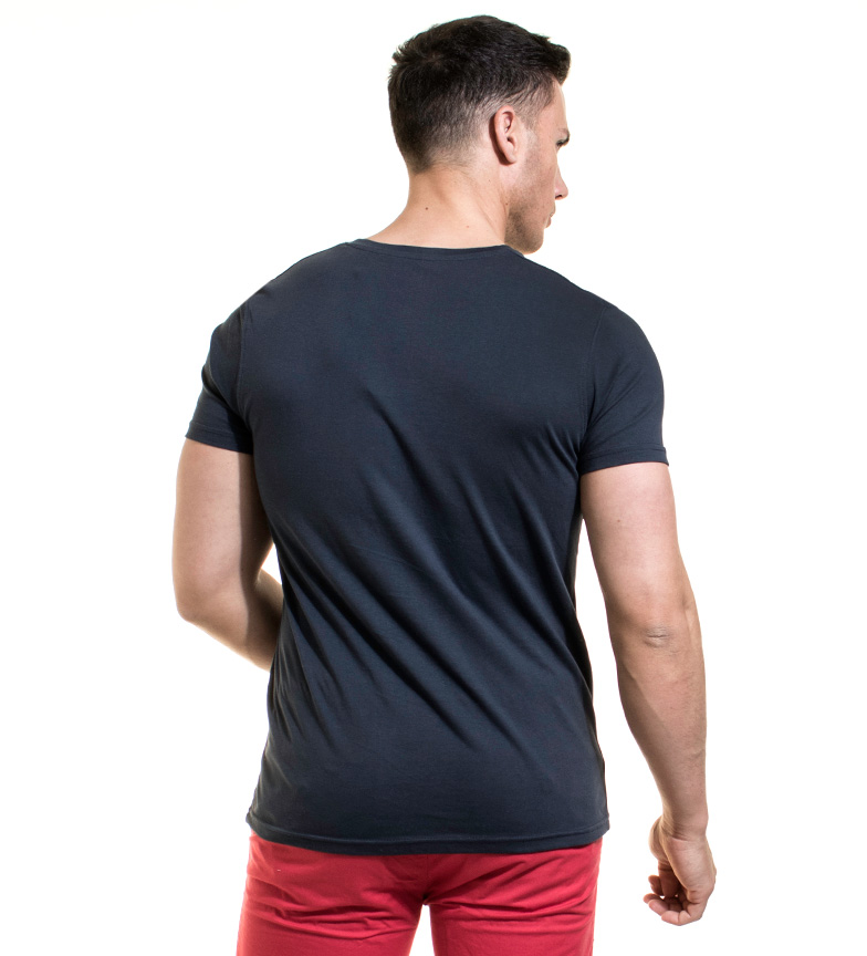 Backlight Camiseta Riley marino