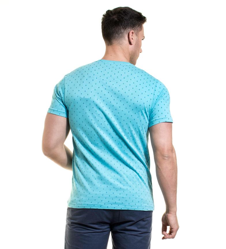 Backlight Camiseta Tiago celeste