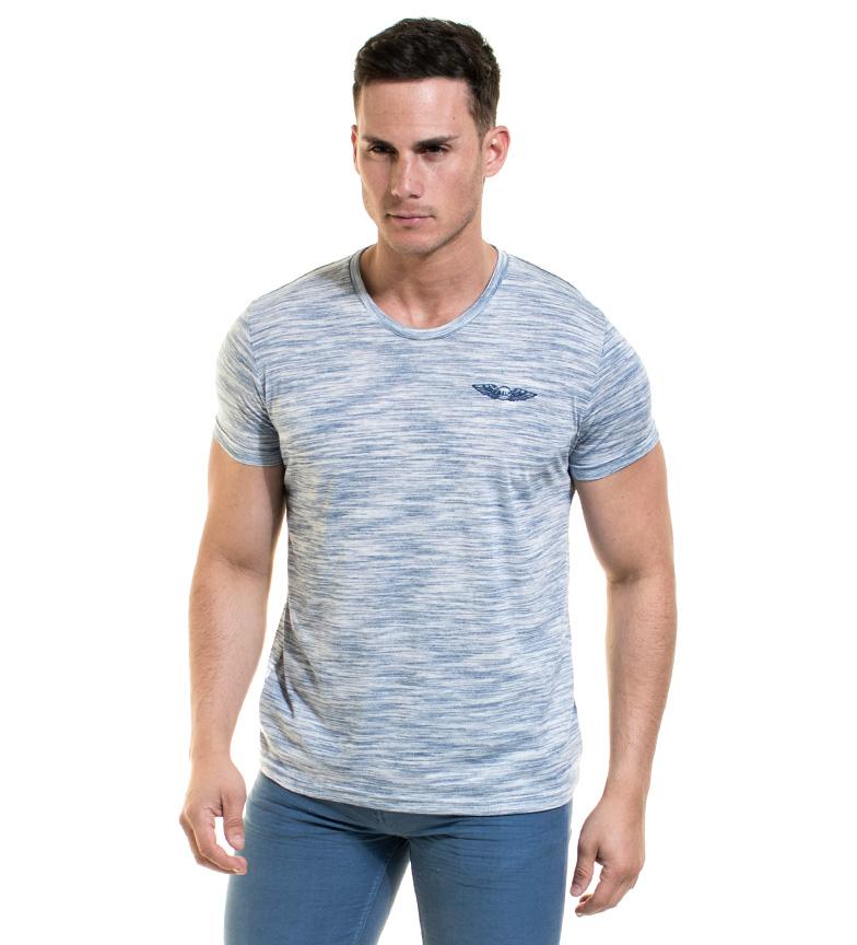 Comprar Backlight Branco de Victorio, luz - t-shirt azul