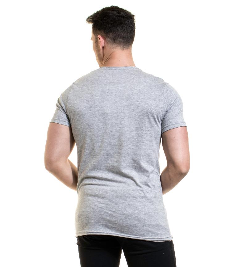 billig rabatt Bakgrunnsbelysning Camiseta Vill Gris billig rekkefølge bJjMpwxn