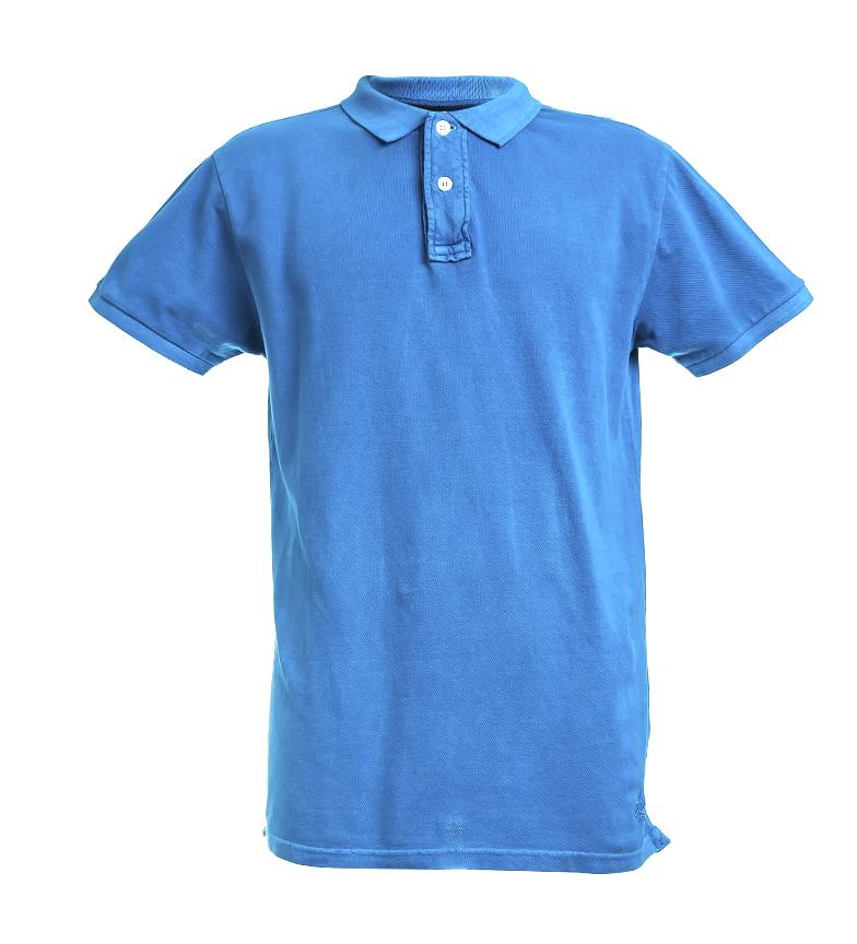 Comprar Backlight Camisa polo azul flúor Martins