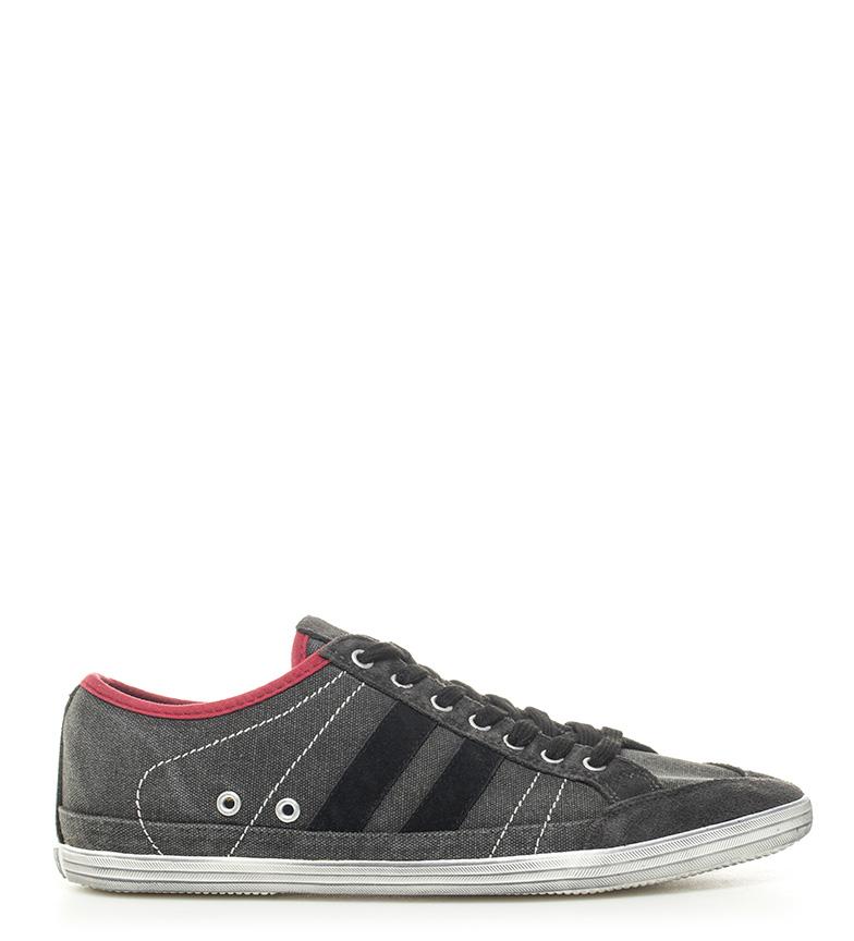 Comprar Victoria Zapatillas de piel combinada negro, gris