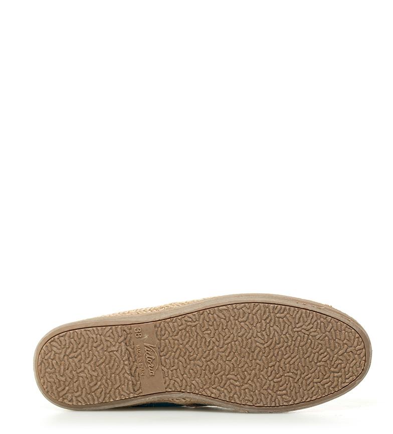 Zapatillas Bamba by turquesa by Bamba Victoria piel de cw8WqW6COF