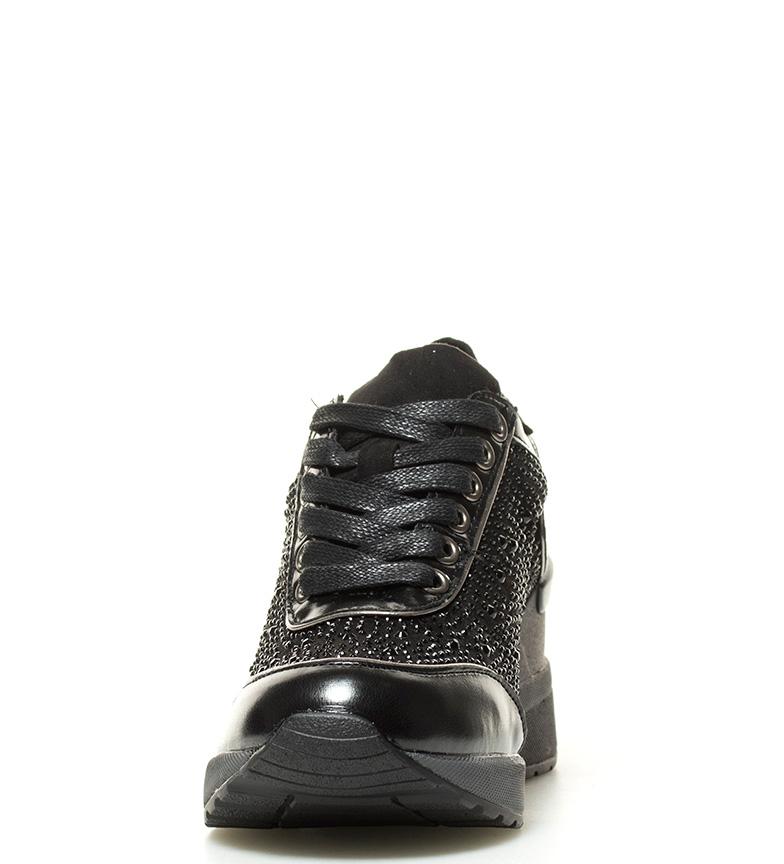 6cm BASS3D negro negro Altura Xti Zapatillas Altura BASS3D Alina by Zapatillas cuña Alina Xti by 4w16qUW