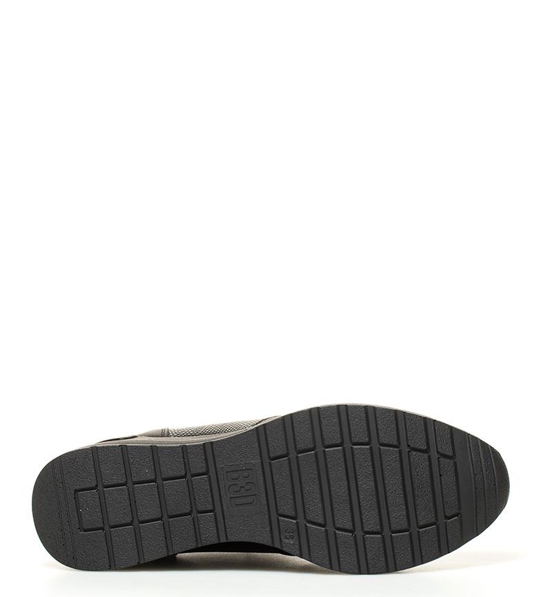 BASS3D by Xti Zapatillas Ester negro Altura cuña: 6cm.