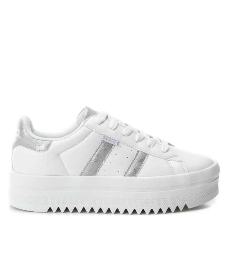 Comprar BASS3D by Xti Chaussure plate 041626 blanc - Hauteur de semelle : 4cm