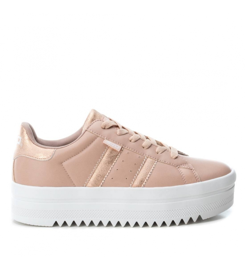 Comprar BASS3D by Xti Flat shoe 041626 nude -Sole height: 4cm
