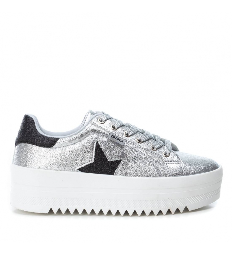 Comprar BASS3D by Xti Shoes 041632 silver -Sole height: 4cm