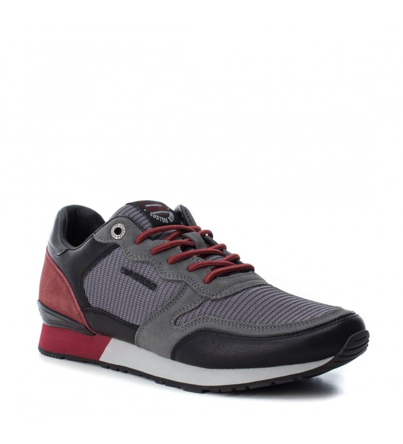 a Gris 040215 Zapato Xti Bass3d Deportivo Plano By qSMVGLUzp