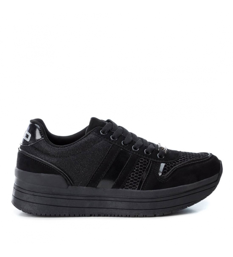 Comprar BASS3D by Xti Sports flat shoe 041551 black - Platform height: 3cm-
