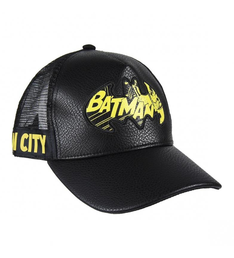 Cerdá Group Batman Premium Synthetic Leather Cap Black