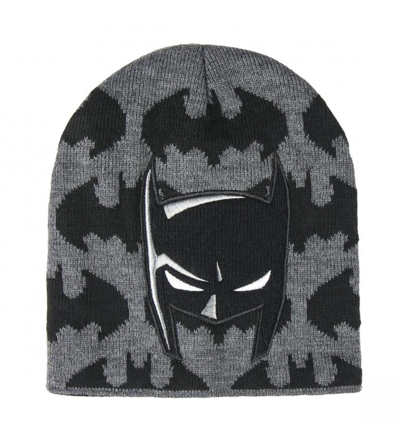 Comprar Batman Gorro con aplicaciones Batman negro