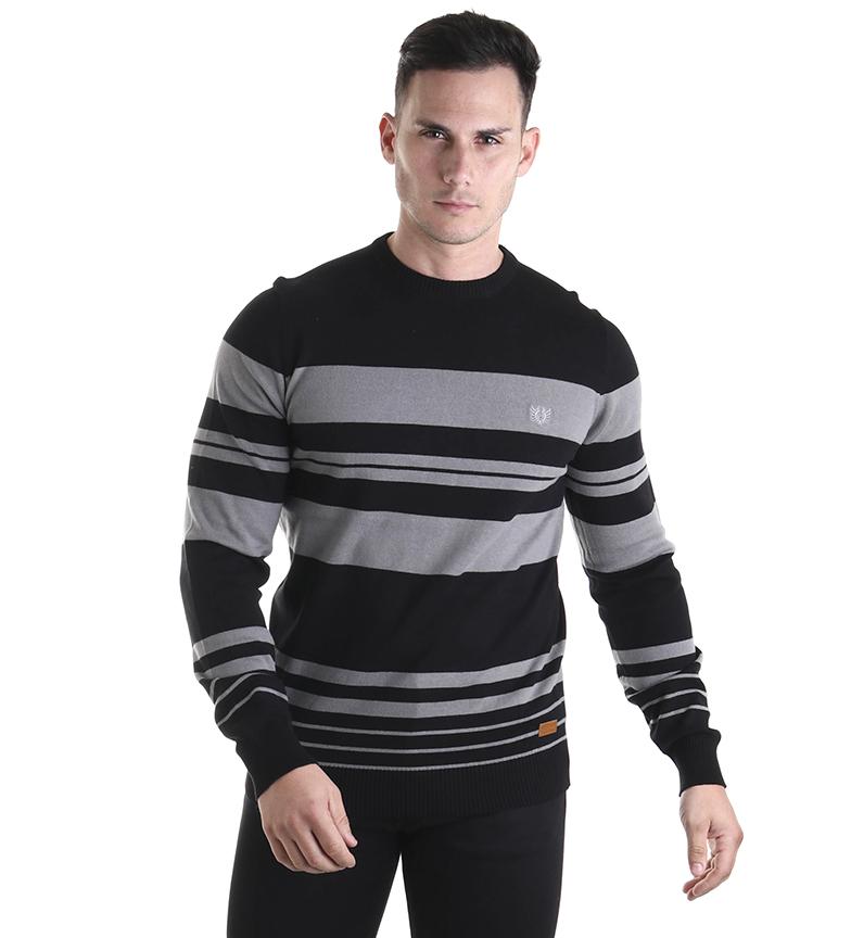 Comprar Bendorff Jersey stripes black, grey