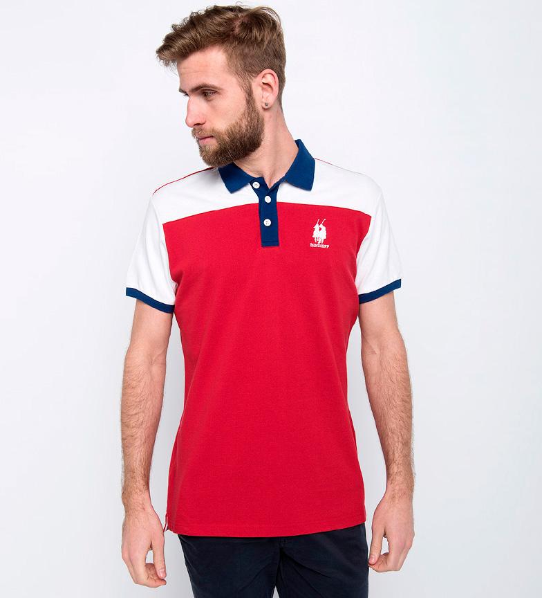 Bendorff Polo Logan rojo, blanco